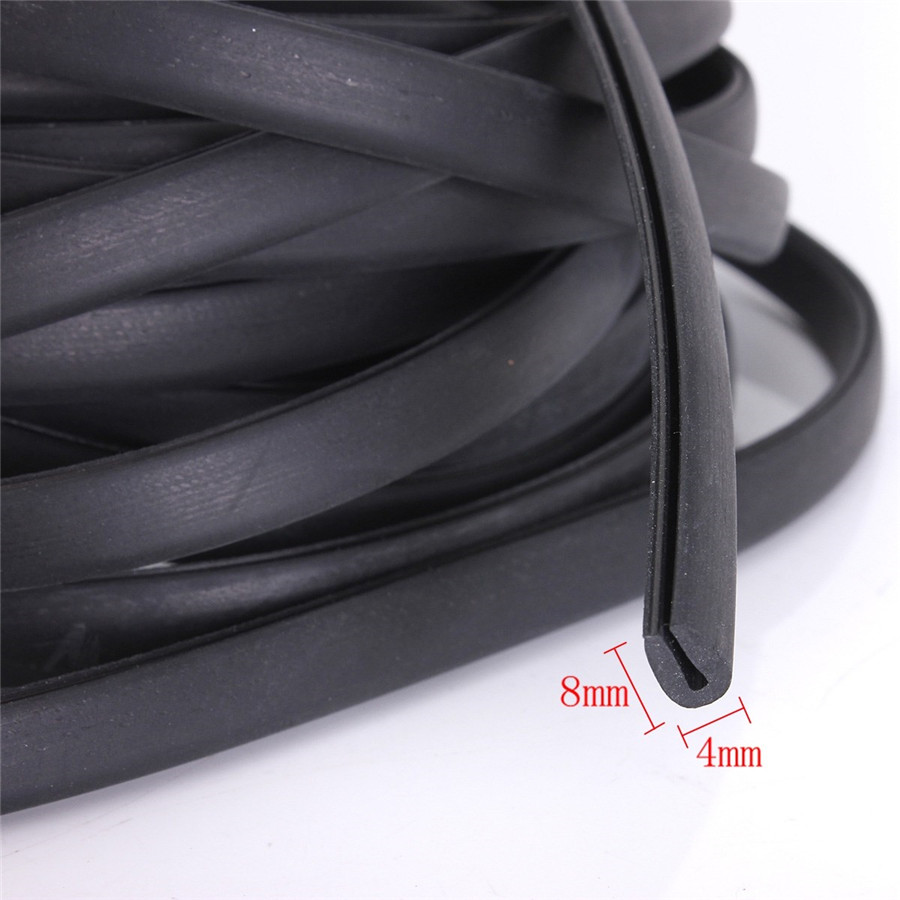 All Crash Parts >> 6M Car Styling Auto Rubber Mouldings Trim Strip Door ...