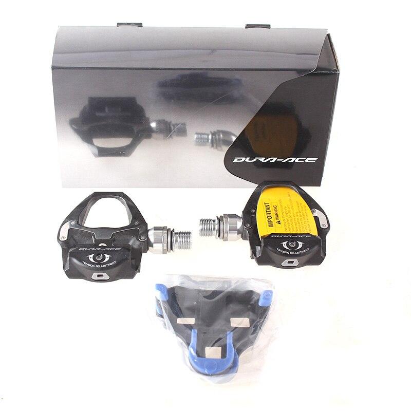 Composants de pédales SPD auto-bloquantes SHIMANO Professional PD 9000 utilisés pour les pièces de vélo de route de course de vélo