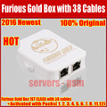 2016 The newest original Furious Gold Box Full Activated with 1-12 Packs(1, 2, 3, 4, 5, 6, 8, 11 12) +Full 38 Cable Set