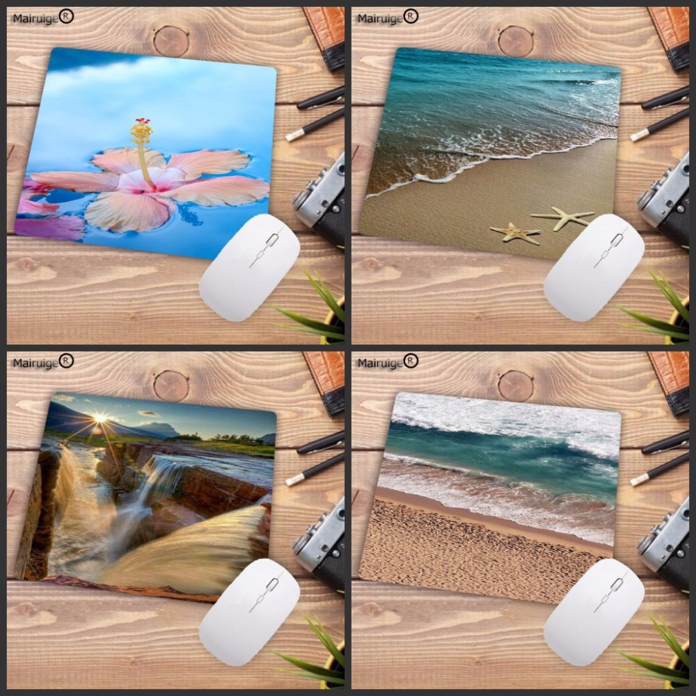 Mairuige Beach Palm Computer Gaming Speed Mousepads Non-Skid Rubber Pad Not Overlock Mouse Pad Big Promotions For Russia Country
