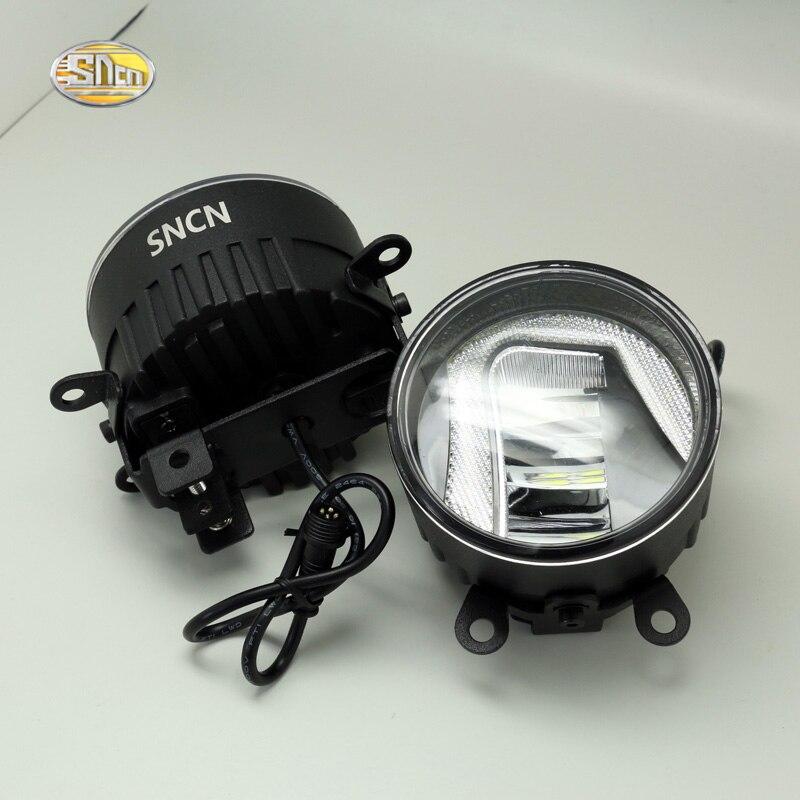 SNCN LED Fog lamp for Suzuki SX4 2006-2017 with daytime running lights DRL 12V High Brightness suzuki sx 4 4d 2006