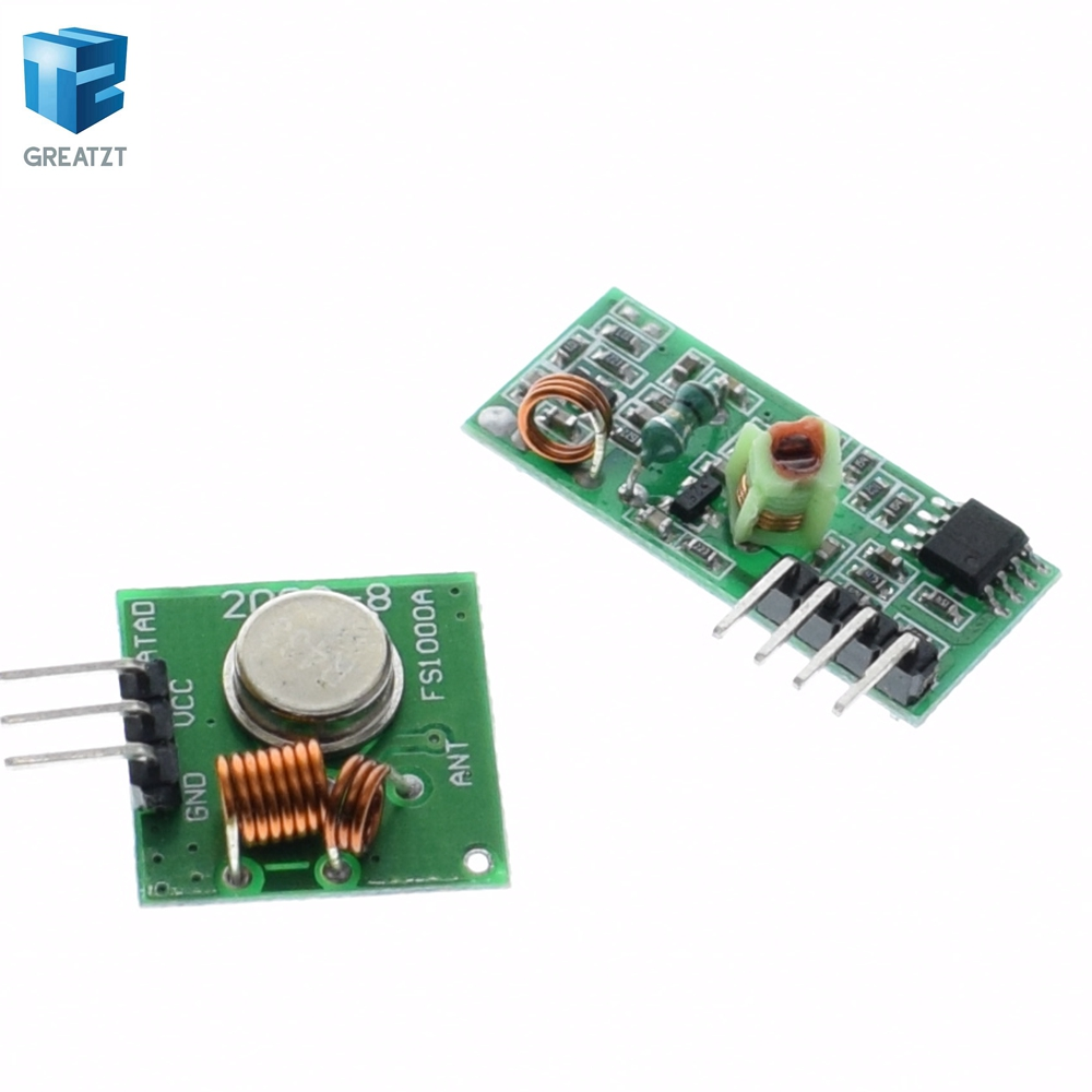 1pcs Lowest Price 433mhz Rf Transmitter And Receiver Kit For Arduino Circuit Project Drop Shipping Tk0460 In Integrated Circuits From Electronic Components Supplies On