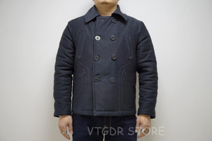 Image 5 - BOB DONG manteau dhiver Double boutonnage en laine pour hommes, veste de paon doublée pont, 740