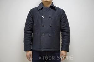 Image 5 - Bob dong 740 double breasted peacoat casaco de ervilha lã de inverno forrado jaqueta de plataforma dos homens