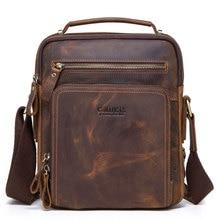 Men Bag Genuine Leather Messenger Bag Sh