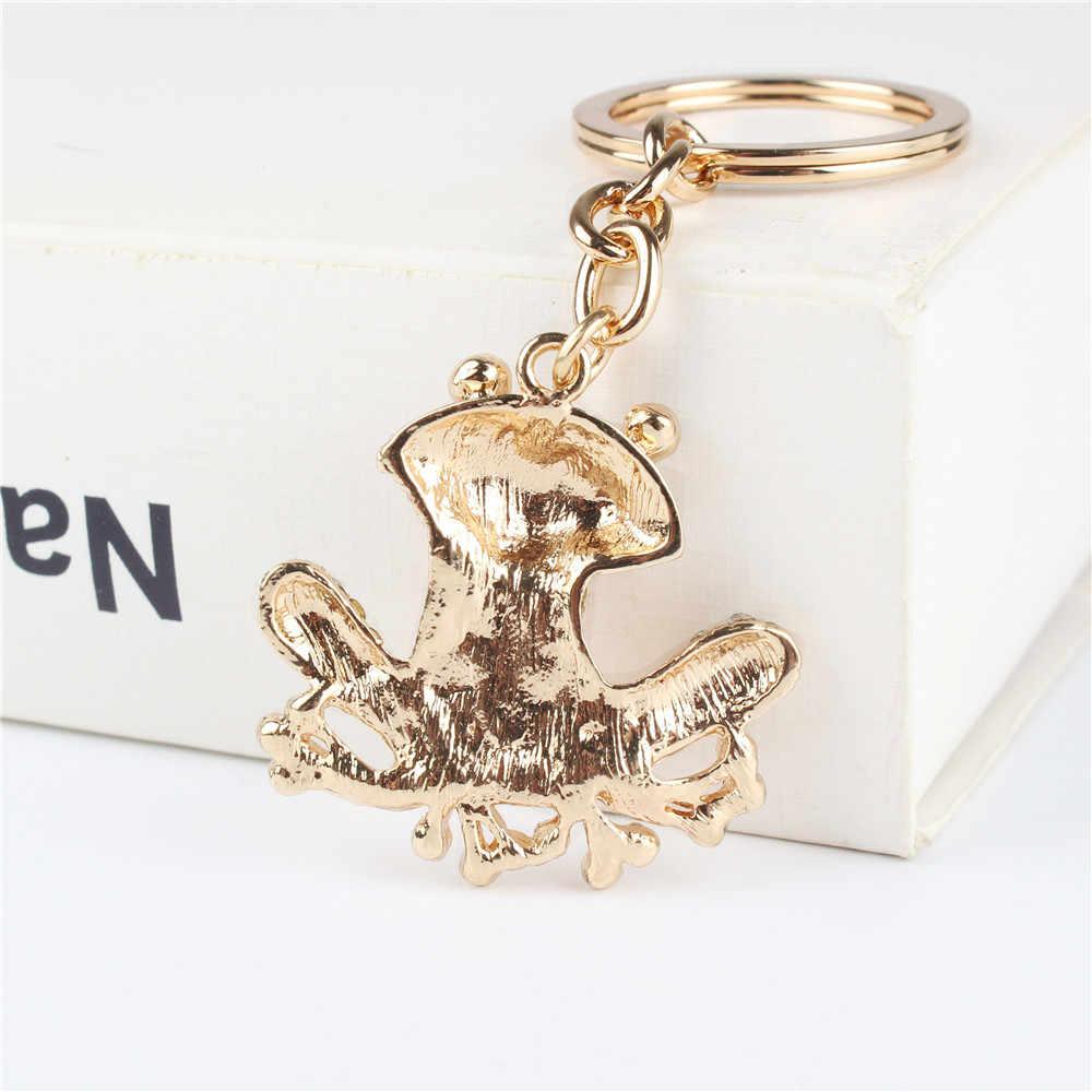 Очаровательная подвеска в виде лягушки, Очаровательная сумочка со стразами и кристаллами, брелок для ключей, аксессуары для ключей, держатель для свадебной вечеринки, брелок, подарок