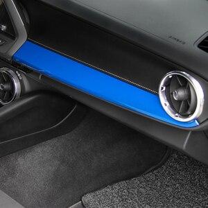 Image 3 - SHINEKA ABS Nội Thất Bộ Dụng Cụ Copilot Hành Khách Bảng Điều Khiển Bên Hông Trang Trí Viền Carbon Sợi Phong Cách Cho 6th Gen Chevrolet Camaro 2017 +