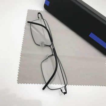 Titanium Rim Square Glasses Frame Business Men High Quality Eyewear Screwless Hand-made Myopia Optical Eyeglasses Frame