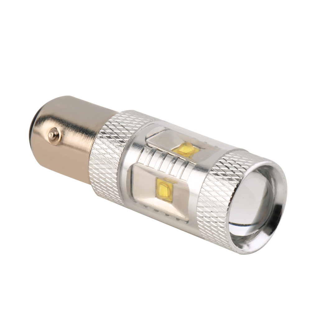 High Quality 1pc 1157 High Power 30W BAY15D Tail Brake Stop Turn Signal Led Light Bulb free shipping