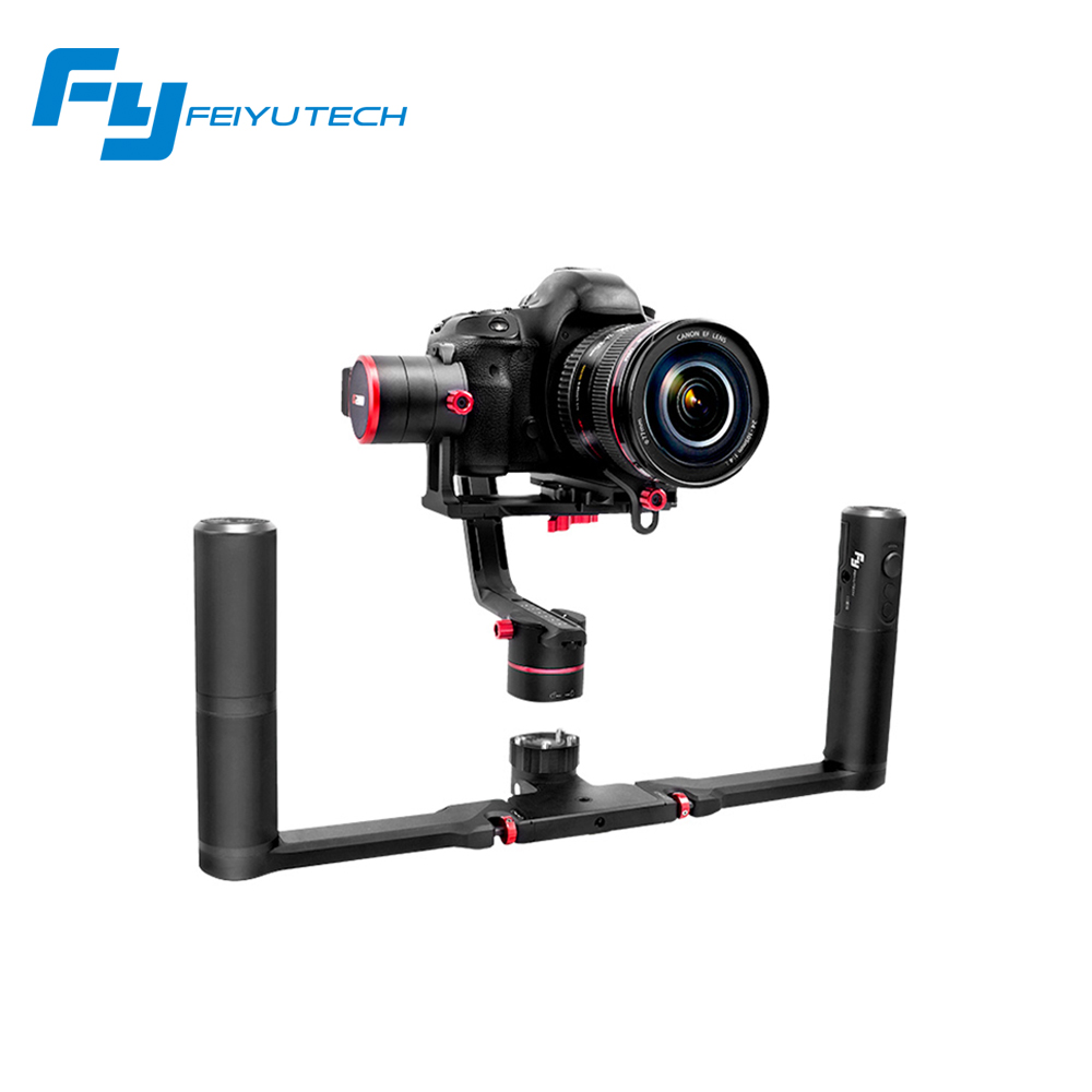 Feiyu FY a2000 New arrival Mirrorless DSLR Cameras Stabilizer Dual handheld timelapse for Canon 5D/SONY /Panasonic 2000g afi vs 3sd handheld 3 axle brushless handheld steady gimbal stabilizer for canon 5d 6d 7d for sony for gh4 dslr q20185