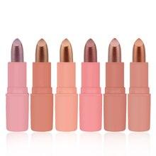 Red Glitter Lip Gloss Cosmetic Matte