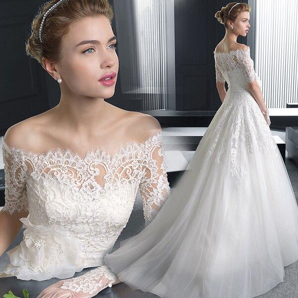 Vintage Wedding Dresses Michigan: Popular Russian Wedding Gowns-Buy Cheap Russian Wedding