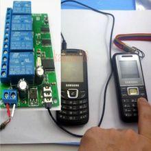 4 ch dtmf mt8870 decodificador de áudio casa inteligente controlador voz do telefone móvel módulo swicth controle remoto
