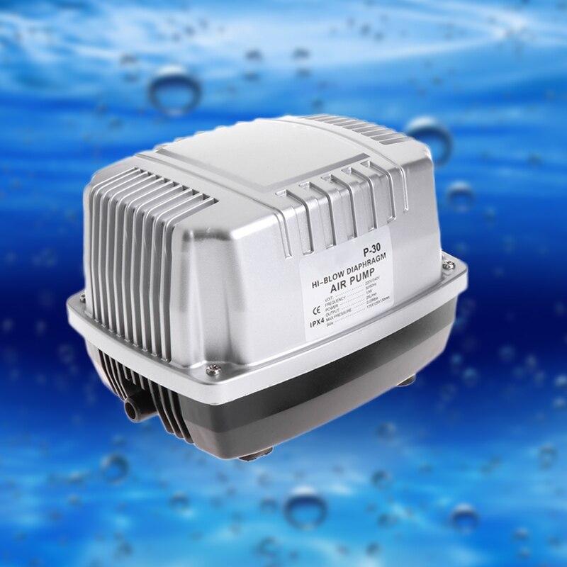 Pompe à Air d'aquarium Anti-candidat avec Valve de contrôle de séparateur de 8 voies 10 W 220-240 V EU Plug accessoires de pompes à Air de réservoir de poisson
