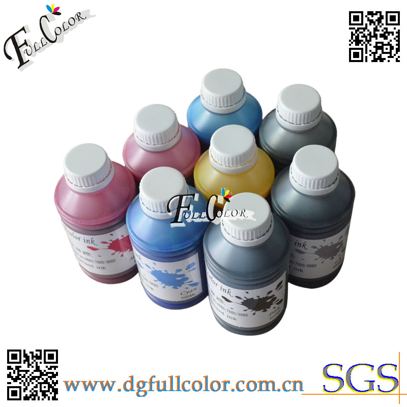 High Quality Pigment Ink For <font><b>Epson</b></font> <font><b>7800</b></font> 7880 9800 9880 Printer Refill CISS <font><b>Cartridge</b></font> 1000Ml Per Bottle image