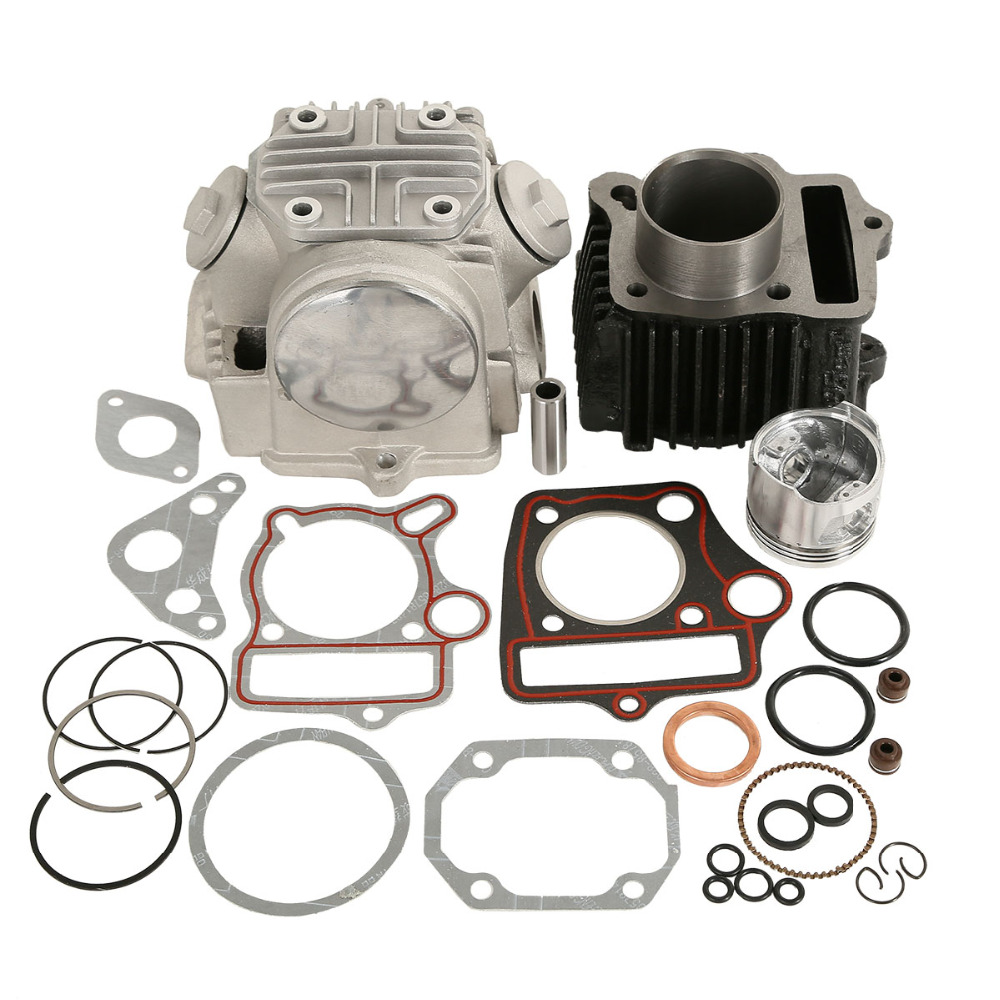 Image 2 - Motorcycle Cylinder Engine Motor Rebuild For Honda ATC70 CT70 TRX70 CRF70 XR70 70CC 49.5CM3-in Pistons & Rings from Automobiles & Motorcycles