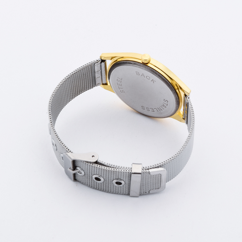 2018 New Brand Gold Silver Casual Quartz Watch Klockor Metal Mesh - Damklockor - Foto 6
