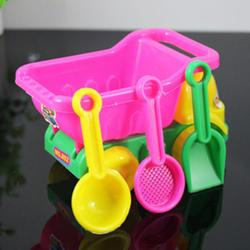 4 шт./компл. летние пляжные песочные играть в игрушки песок вода игрушки Дети Ведёрко для морского побережья лопата грабли комплект играть