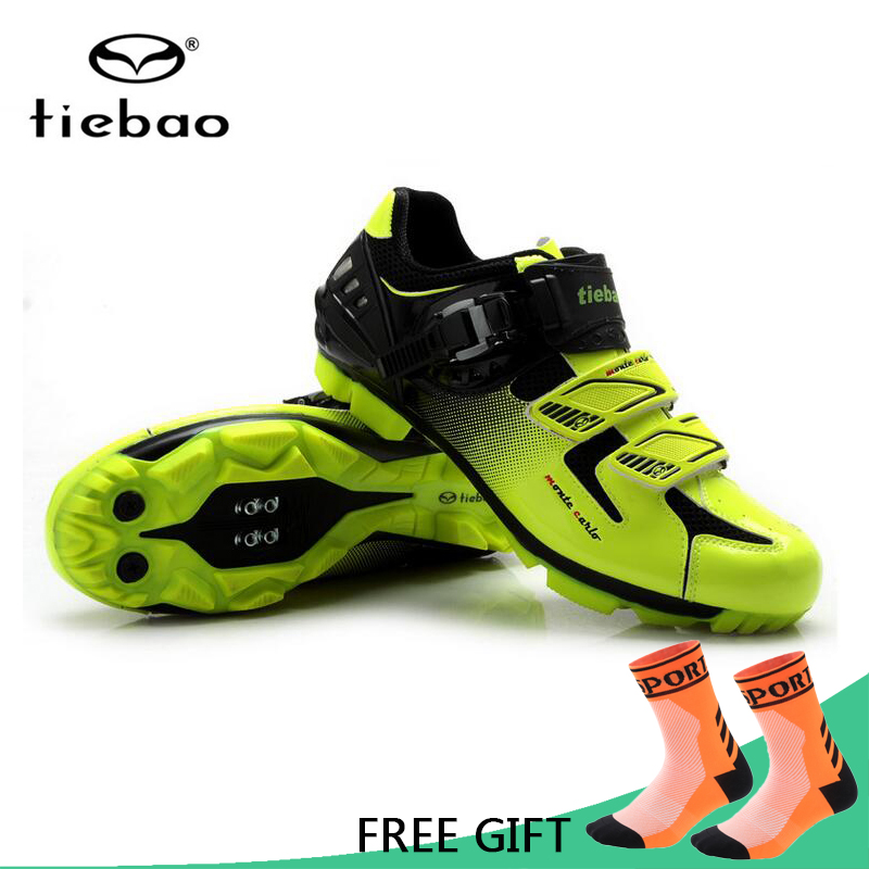 Tiebao Professional MTB Cycling Shoes Men Bike Self-Locking Shoes Breathable Bicycle Athletic Racing Shoes zapatillas ciclismo все цены