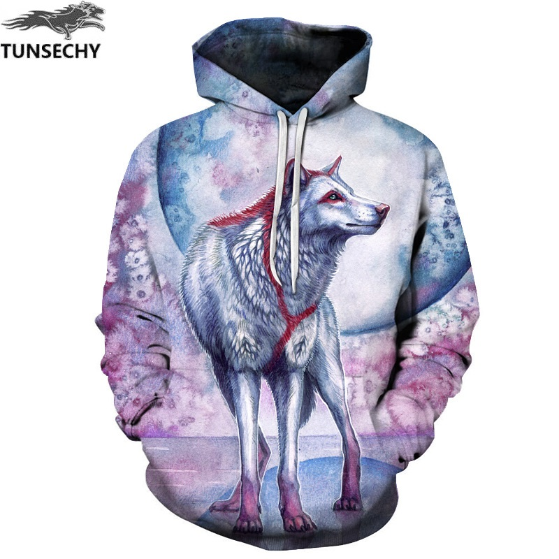 TUNSECHY Animals Print Fashion Brand Hoodies & Sweatshirts Men/Women 3D Sweatshirt Hooded Hoodies And Pockets Hoody Tracksuits