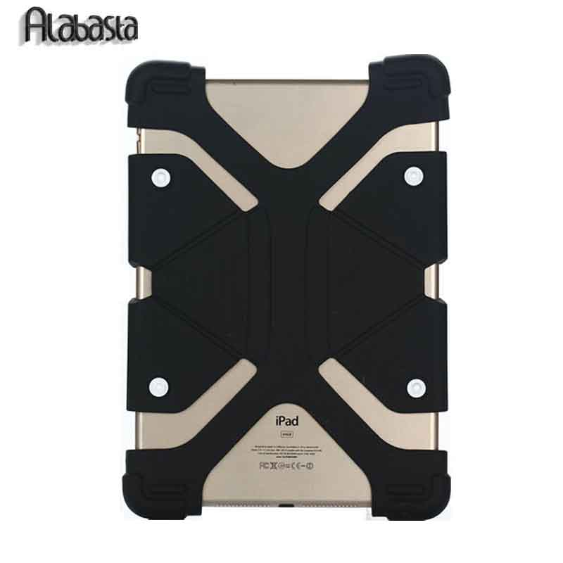 Alabasta Universal Cover For Samsung Huawei Xiaomi Asus Tablet,Hot 7 8 9 Inch Silicone Case With Buttons For iPad Mini 3 Cover universal 8 inch tablet case for huawei lenovo samsung asus acer ipad mini marble pu leather flip tablet protective shell cover