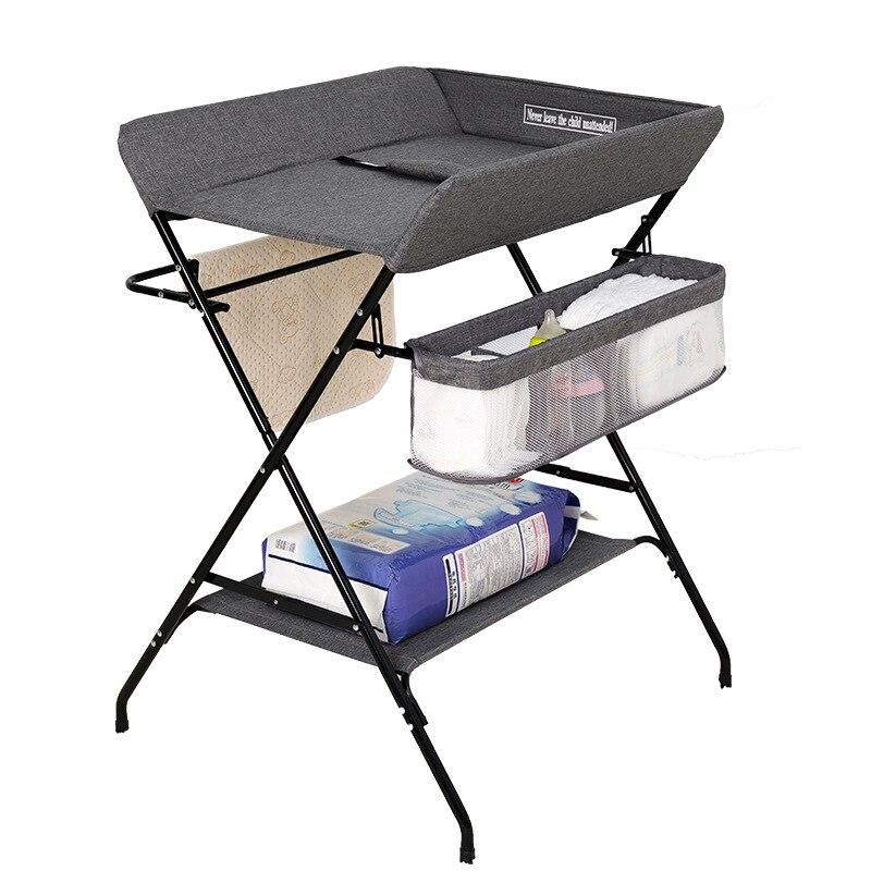 Table à langer bébé table de soins nouveau-né massage tactile table de bain bébé table à langer multifonctionnel pliable