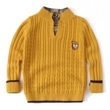 נער סוודר סריגי בגדי בני נוער החורף ארוך שרוול קרדיגן סרוג סוודר פעוט לבן ילד צמרות 3 12 שנים