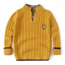 Pull tricoté pour adolescents, vêtement blanc, Cardigan à manches longues, pour enfants de 3 à 12 ans, hiver
