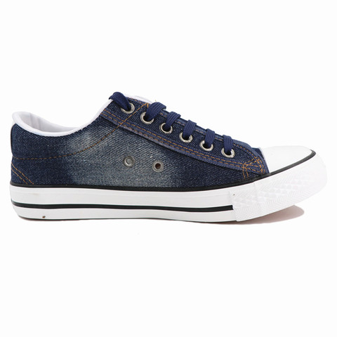 Fashion Women Sneakers Denim Casual Shoes Female Summer Canvas Shoes Trainers Lace Up Ladies Basket Femme Stars Tenis Feminino Multan