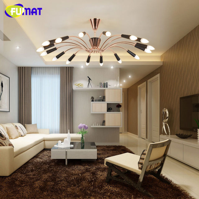 fumaf nordic luxury living room ceiling lights modern simple indoor lighting round led bedroom ceiling lamps gold - Simple Bedroom Ceiling Lights