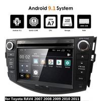 7 Car Multimedia Android 9.1 2 Din DVD CD Player Autoradio 2Din Radio for Toyota RAV4 RAV 4 2007 2008 2009 2010 2011 47