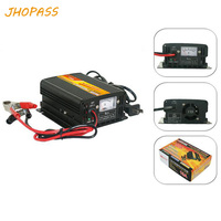 Für 12 V 24 V 20A motorrad/e-bike LCD display blei batterie ladegerät ausgang 220 V reparatur batterie ladegerät