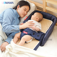 For 0 5 years old baby 5 high quality baby bed bed portable folding baby bed highchairs newborn supplies