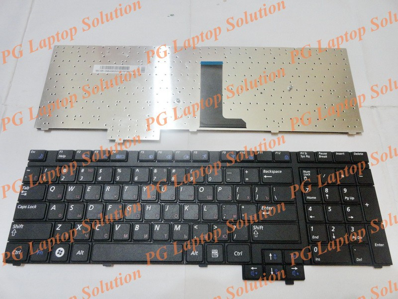 New Laptop keyboard for Samsung R718 NP-R718 R720 NP-R720 R730 NP-R730 Black Russian RU Version - CNBA5902531