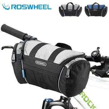ROSWHEEL 5L vélo vélo sac de cyclisme guidon Tube avant Pannier panier sac à bandoulière