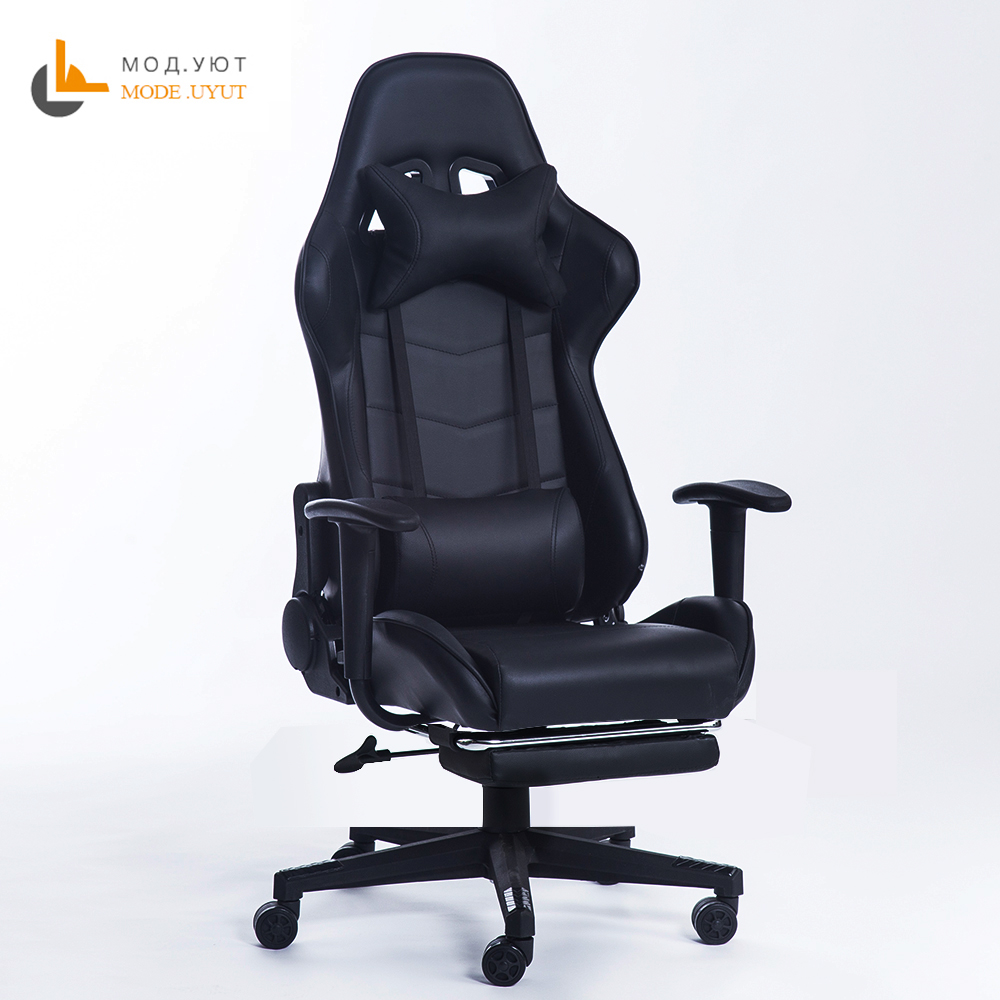 New arrival Racing synthetic Leather gaming chair Internet cafes WCG computer chair comfortable lying household Chair  ...