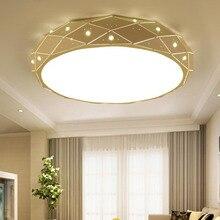 Crystal round ceiling lights Modern Ceiling Lamp for Living Room study Bedroom LED Ceiling Lamp Home Decoration все цены