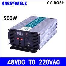 500w inverter 48v dc 220v ac