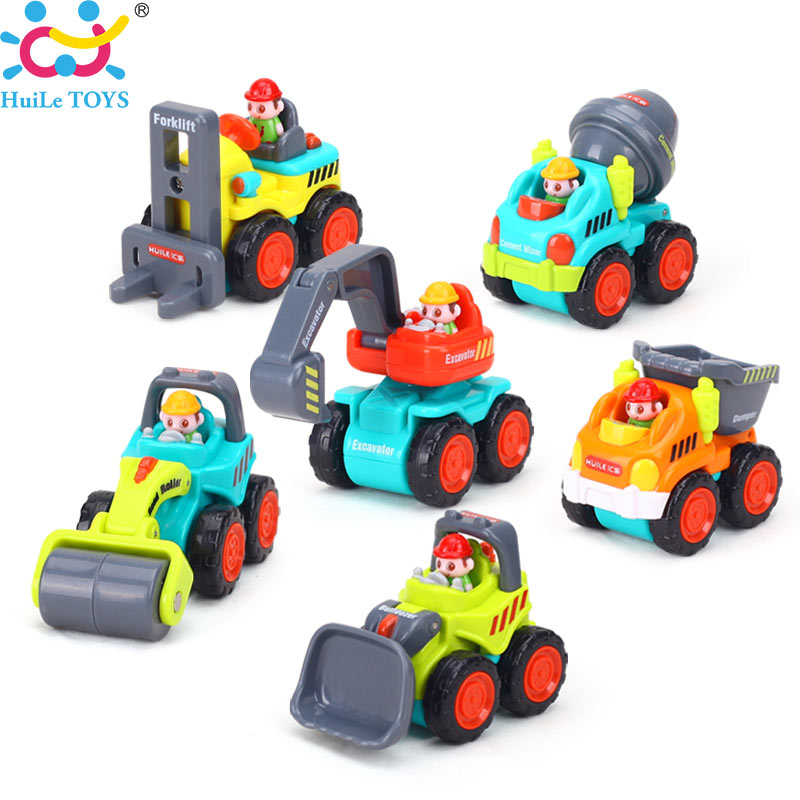 6PCSLot-Baby-Toys-Mini-Construction-Vehicle-Cars-Forklift-Bulldozer-Road-Roller-Excavator-Dump-Truck-Tractor-Toys-for-Boy-1