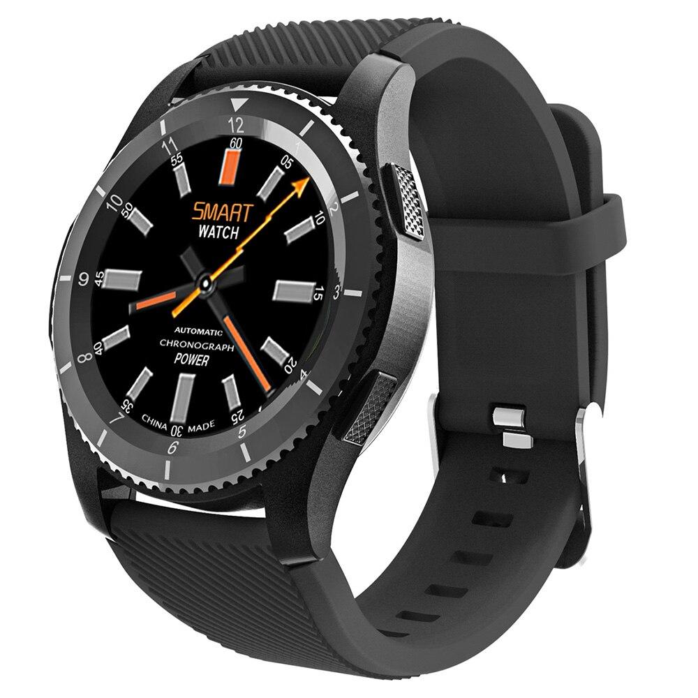 b4524ef6d10 DTNO. Eu G8 Telefone Smartwatch 1.2 Polegada Bluetooth Freqüência  Cardíaca Monitor de Pressão Arterial