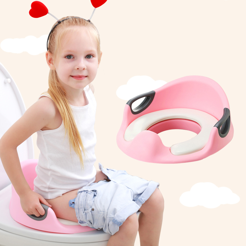 Baby Potty Chair Children Toilet Seat Comfortable Soft Toilet Mat