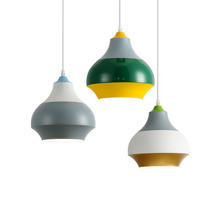 Modern Nordic Pendant Light Indoor Hanging Drop Contemporary Suspension Lamp Restaurant Dining