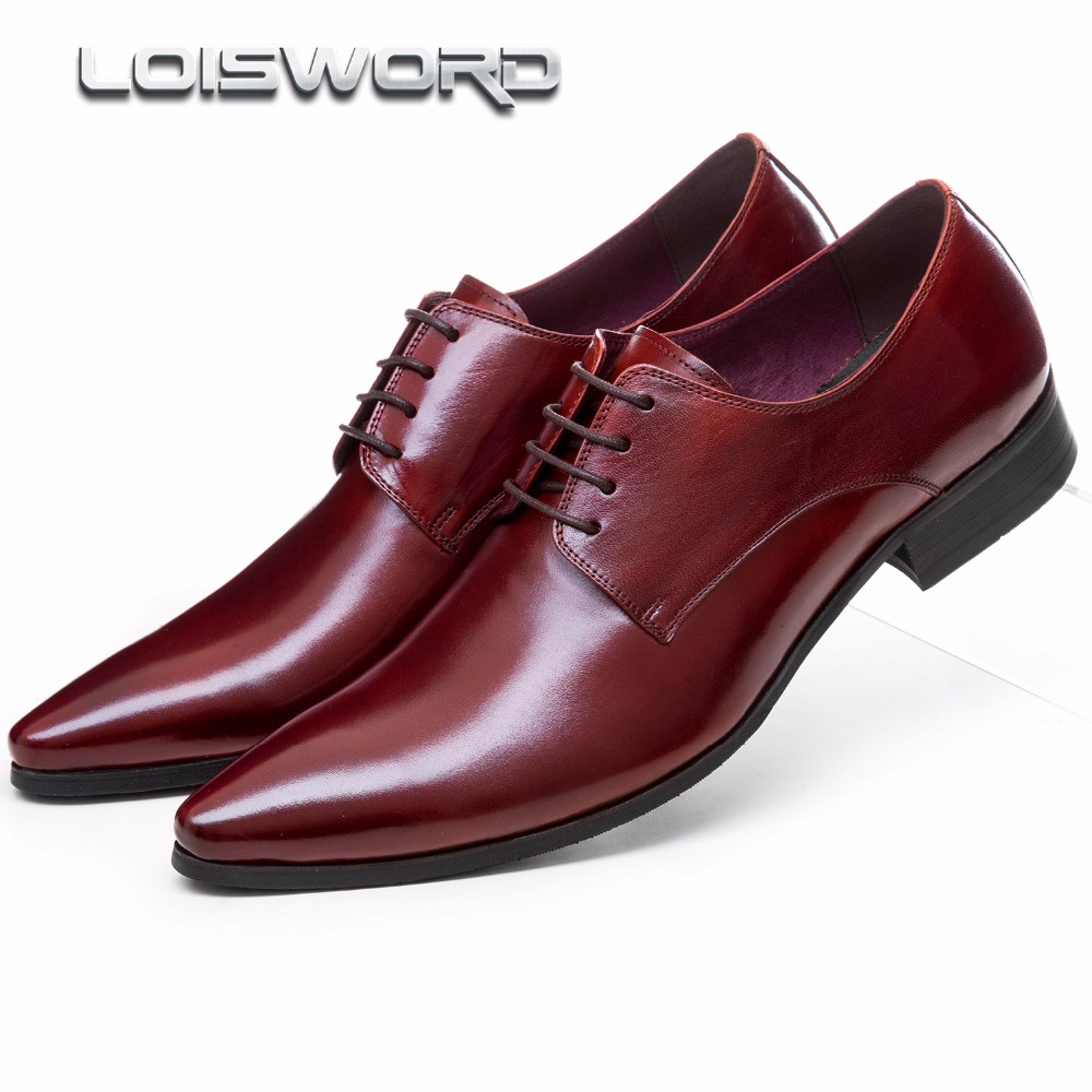 Large size EUR45 pointed toe oxfords shoes mens dress shoes genuine leather mens business shoes breathable mens wedding shoes top quality crocodile grain black oxfords mens dress shoes genuine leather business shoes mens formal wedding shoes