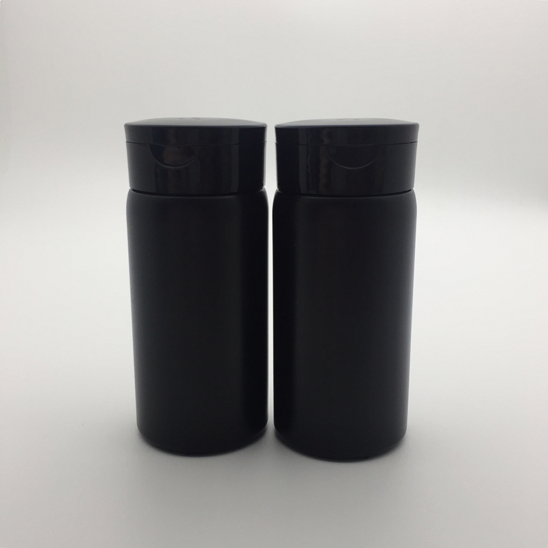 Free shipping black pink white 80g talcum powder bottles 50 pcs lot Sifter Bottle 80ml Portable