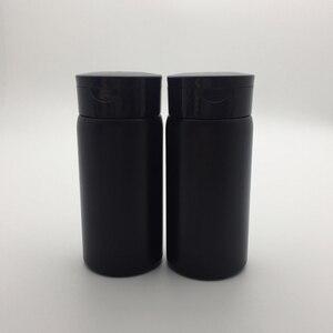black/pink/white 80g talcum powder bottles 50 pcs/lot Sifter Bottle 80ml Portable baby talcum powder empty bottle
