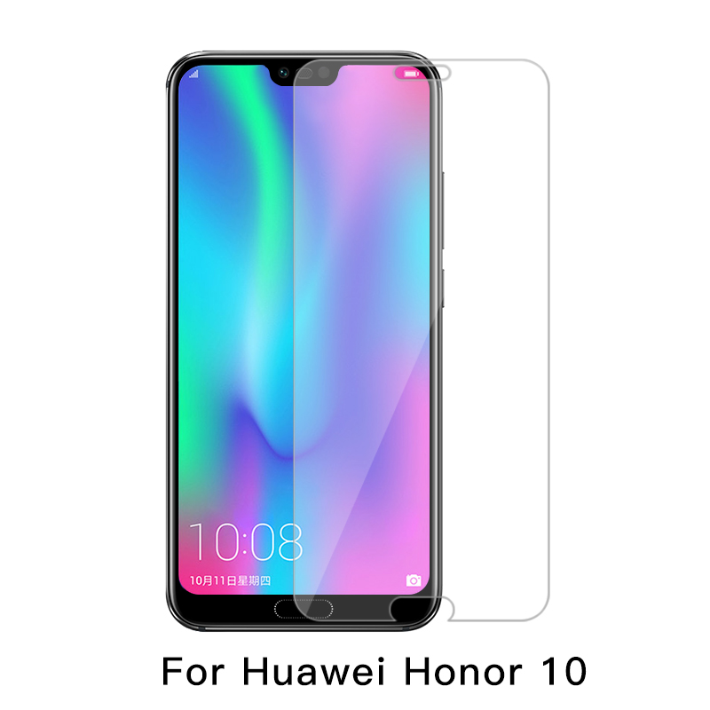 Tempered Glass For Huawei Honor 8S 8A 10 V9 Play V10 8X Max 8C 7C 7A 6C Pro 10i 20i With White Edge Eliminate Revising Liquid