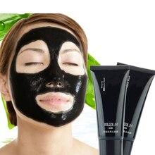 1Pcs Women Female Black Face Mask Blackhead Remover Black Mud Deep Cleansing Masque Peel Off Black Head Mask Whiting Skin Care