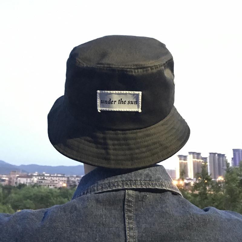 Quilt Soft Hip-hop Sun Outdoor Fishing Beach Bucket Boonie Cap Hat Women Men