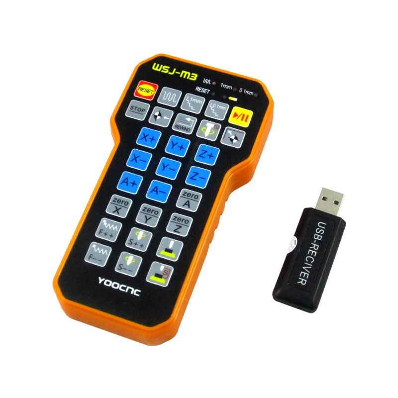 Gravure télécommande mach3 MPG USB roue à main sans fil pour CNC