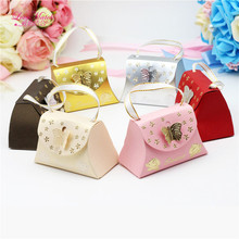 25 Pcs/Lots Butterfly Candy box Wedding favors and gifts Packaging Carton wedding for guests paper favoR